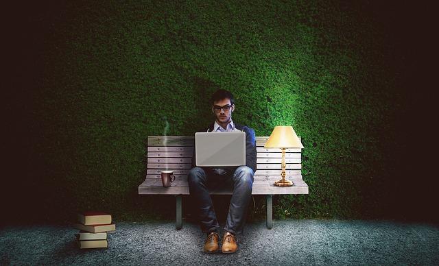 Een ontspannende baan als schrijver
